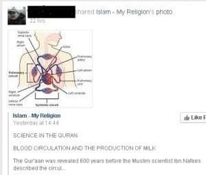 Quran science debate
