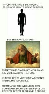 Which is more amazing: man or God?