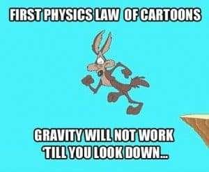 Physics broken