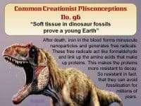 Dinosaur soft tissue